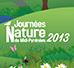 Visuel Journées Nature 2014