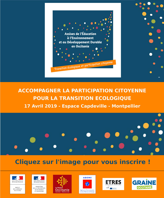 inscription à la journée d'ouverture des Assises régionales de l'EEDD